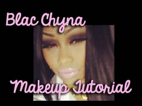 Blac Chyna Inspired Smokey Eye Makeup Tutorial! video