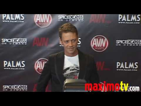 ROCCO SIFFREDI Arriving at 2010 AVN AWARDS SHOW Las Vegas January 9 Video