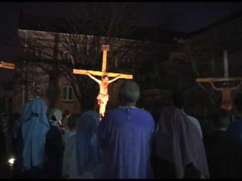 Local church holds Good Friday reenactment Video