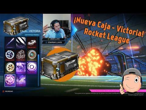 Nueva Actualización, Abriendo Nueva Caja VICTORIA (Victory Crate)   Rocket League