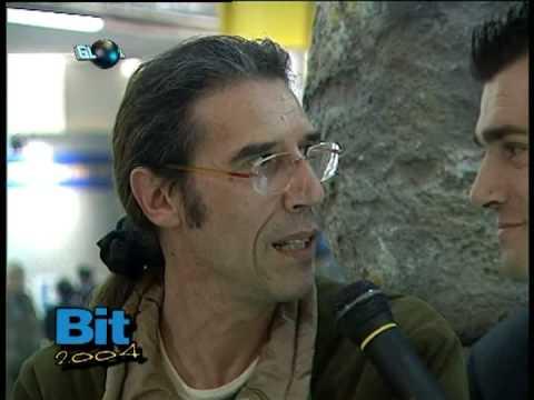 bit milano 2004 5parte con intervista andrea parodi - paul dessanti produzioni tv.