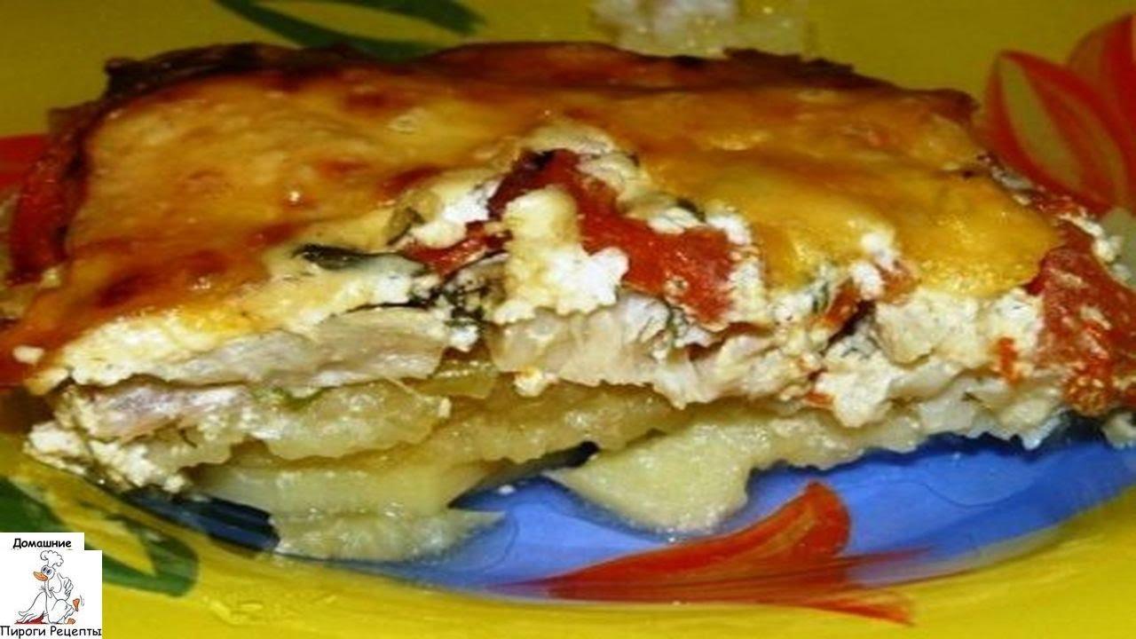 Запеканка картофельная со сливками в духовке рецепт