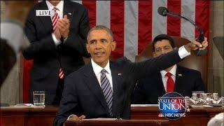 Obama Drops the Mic
