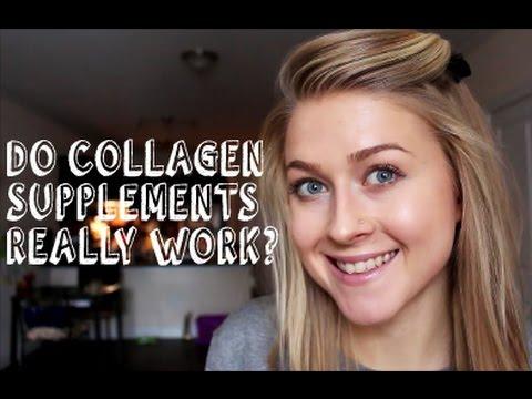Collagen supplement results
