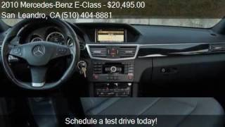 2010 Mercedes-Benz E-Class E350 Sedan 4D for sale in San Lea