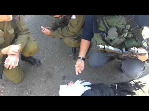 Apprehension of Arab terrorist at Maale Shomron (Shomron Council Security Dept)