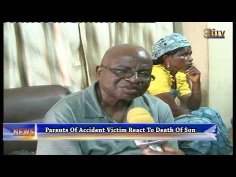 Parents Of Accident Victim React To Death Of Son