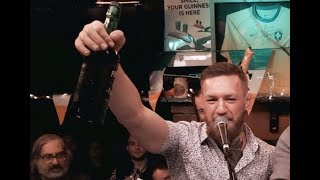 "Conor McGregor Sings "" Whiskey In The Jar "" Slobbering Drunk"