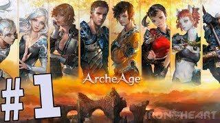 ArcheAge - первый запуск | Самая ожидаемая ММО-игра последних лет | Прохождение игры