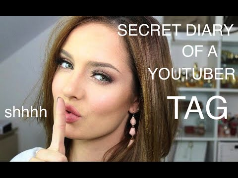 Get To Know Me: Secret Diary of a Youtuber TAG! | ChloeMorello