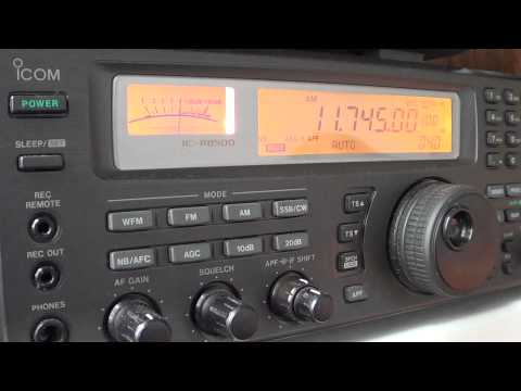 Radio Romania Shortwave icom ic r8500