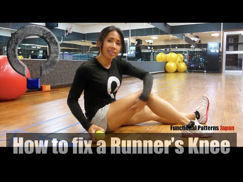 How to Fix a Runner's Knee (IT Band Release)