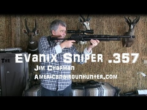 evanix sniper 357 air rifle! A solid big bore for big game and predators.