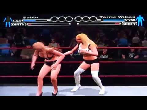 Wwe Svr Bra & Panties Match Sable Vs Torrie Wilson video