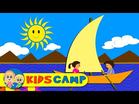 Row Row Row Your Boat | Nursery Rhymes | Popular Nursery Rhymes by KidsCamp
