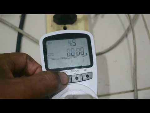 สั่งElectronic Energy Meter รุ่น TS-1500 aliexpress.com ใช้งานกระพริบ