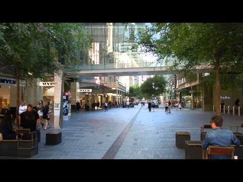 Sydney - City Tours - Pitt Street Mall Tour 2016 01 08