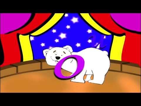 las vocales A E I O U : aprendo  las vocales con el circo de...