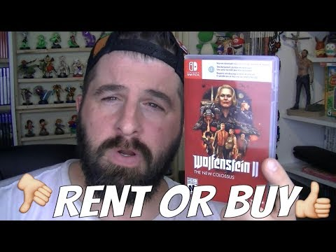 NINTENDO SWITCH WOLFENSTEIN 2 RENT OR BUY GAME REVIEW
