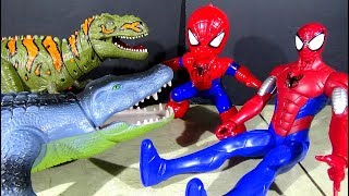 Spiderman Toys And Battery Operated Crocodile Toy And Dinosaur Toy! - LotsMoreToys