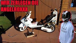 Downi und Innenrotorzündung auf Straße ?   Yamaha Aerox/AngelRox Demontage
