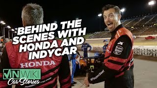 A look behind the scenes at Honda's Two-Seater IndyCar