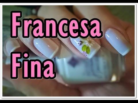 Francesa fina, rápida e fácil! Segredos de Manicure......
