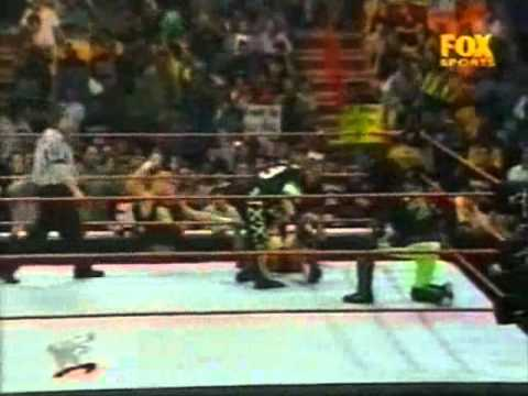 The Rock vs DX (3 on 1 Handicap No-DQ Match) 03-01-2000