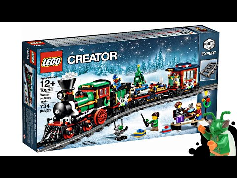 LEGO Winter Village Holiday Train - My Thoughts!