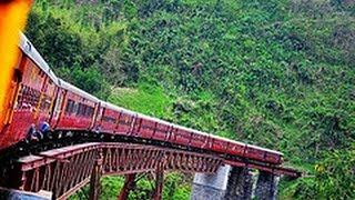 ලෝකයේ බයානතම දුම්රිය මාර්ගය  World's Most Dangerous Stretch of Railway