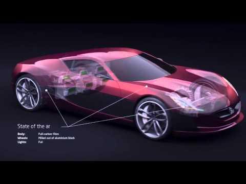 Concept_One - Električni Super Športni Avtomobil