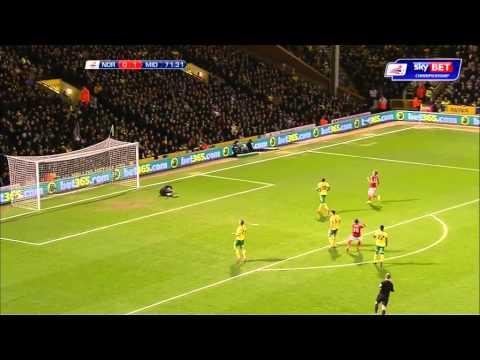 Norwich 0-1 Boro