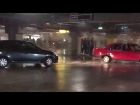 Tokyo Değil İstanbul Drift: Otoparkta Tehlikeli Anlar