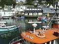 Polperro- boats in the harbour