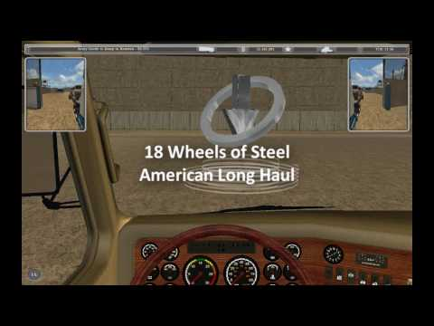 18 Wheels of Steel American Long Haul - army goods to Houston (drive cut)