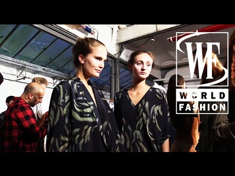 Backstage AF Vandevorst Spring-Summer 2015 Paris Fashion Week