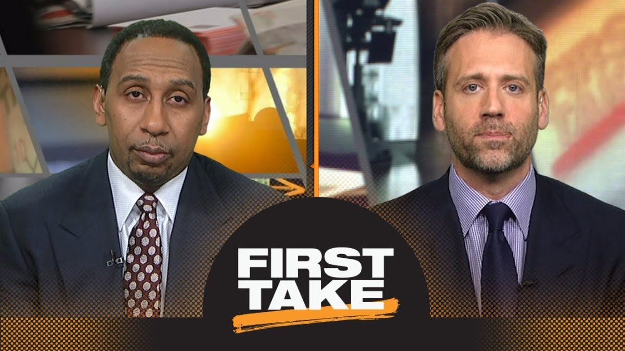 Stephen A. disagrees with Max on NBA All-Star Slam Dunk contest: It didn't move me | First Take | ES