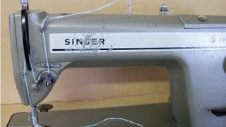 How to Thread a Singer Industrial Sewing Machine