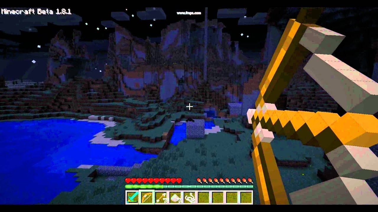 how to make bow mincraft demo
