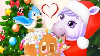 Fun Pony Sister Care Kids Game - Pony Sisters Christmas - Secret Santa Gifts Dress Up Fun Kids Games