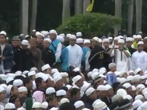 Cuplikan Maulid 2013 di Monas bersama Majelis Rasulullah SAW