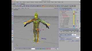 Reusing A CD Character Plugins Rig in Cinema 4D Part 1