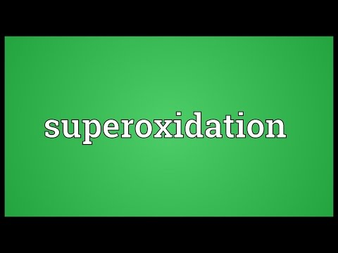 Header of Superoxidation