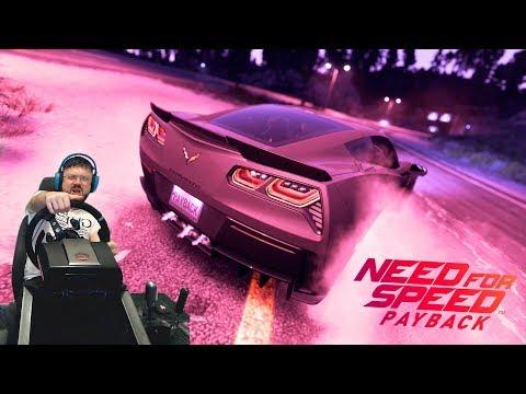 Need for Speed Payback - навалил на Chevrolet Corvette, поставил на место банду однопроцентных