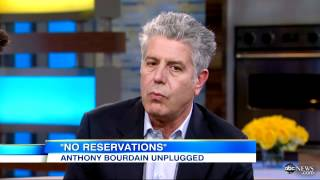 "Anthony Bourdain Calls Paula Deen ""Greedy,"" Asks"