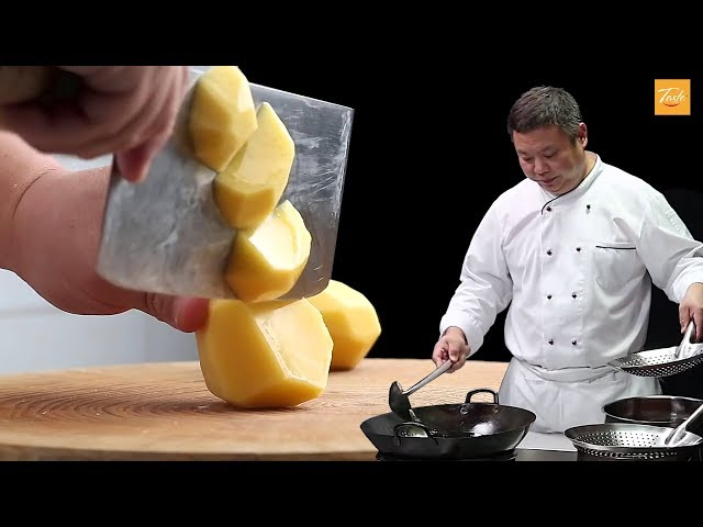 Chef39s favorite potato recipes - 2 Ways l Cooking with Wok