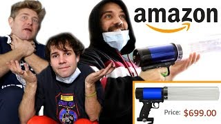 UNBOXING THE COOLEST AMAZON PRODUCTS with DAVID AND JASON!!