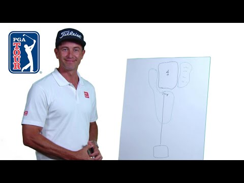 Players draw their ideal golf hole
