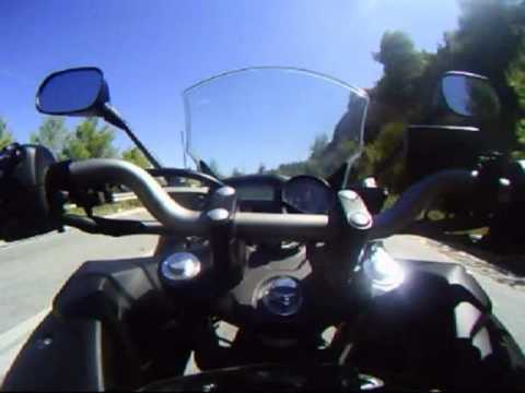 GoPRO - Yamaha XJ6 Diversion F