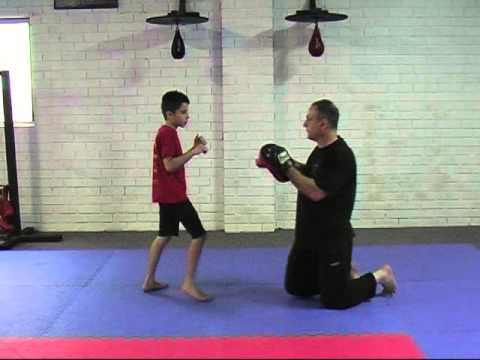 Jun Fan KickBoxing To Trapping - Lil Dragons Class Image 1